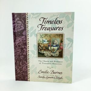 TIMELESS TREASURE BY MILIE BARNES HARD COVER BOOK